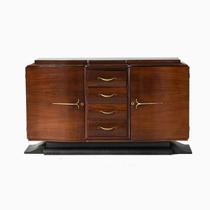 Art Deco French Rosewood Buffet, 1940s