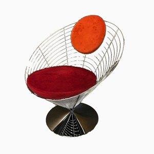 Model V-8800 Swivel Chair by Verner Panton for Fritz Hansen , 1950s
