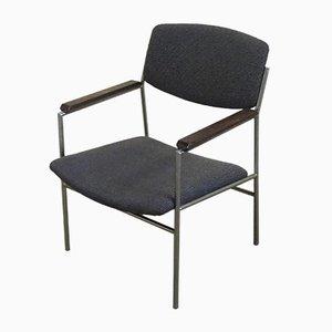 Modell 60 Armlehnstühle von Gijs van der Sluis, 1960er, 2er Set