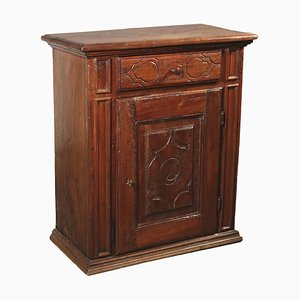 Small Antique Walnut Cupboard