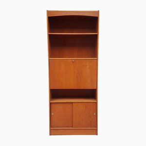 Wall Bureau Shelving Unit, 1970s