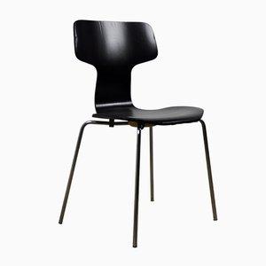 Mid-Century Modell 3103 Hammer Esszimmerstühle von Arne Jacobsen für Fritz Hansen, 4er Set