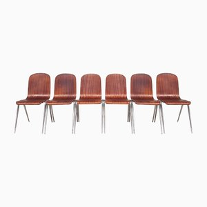 Stacking Dining Chairs from Morris of Glasgow, 1960s, Set of 6