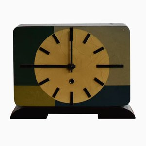 Mid-Century Polish Fireplace Clock, 1970s