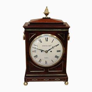 Horloge Régence en Acajou