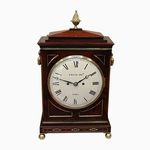 Reloj de repisa Regency de caoba