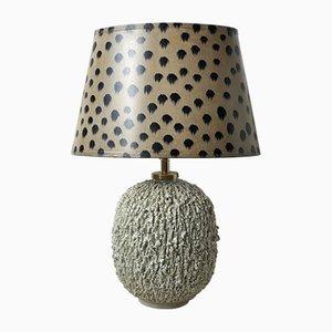 Lampe de Bureau Chamotte par Gunnar Nylund pour Rörstrand, années 40