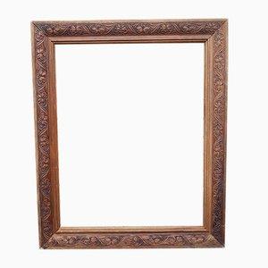 Antique Carved Wooden Frame