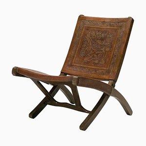 Chaise d'Appoint Pliante par Angel I. Pazmino pour Muebles De Estilo, années 60