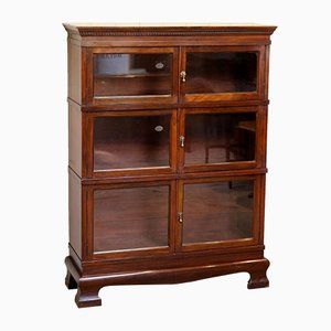 Mahogany Three Tier Bookcase, 1930s
