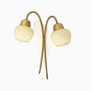 Lámpara de pared Mid-Century, años 50