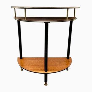 Tavolino D214 vintage in teak, anni '50