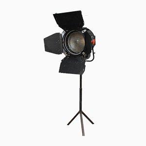 Lámpara de pie con proyector de cine, años 70
