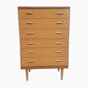 Mid-Century Chest of Drawers from Lebus, 1970s