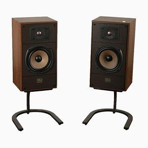 Vintage DL 8 Lautsprecher von DLB, 2er Set