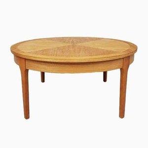 Table Basse Soleil Mid-Century en Teck de Stonehill, 1970s