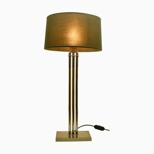 Vintage Brass 3784 Table Lamp by Studio Willy Rizzo for De Knudt, 1970s