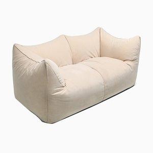 Le Bambole 2-Sitzer Sofa mit Bezug aus Alcantara von Mario Bellini für B&B Italia / C&B Italia, 1970er