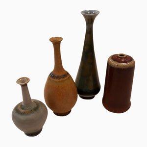Vases Mid-Century par John Andersson pour Höganäs, Set de 4