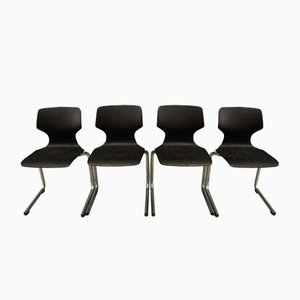 Dining Chairs from Bund, 1960s, Set of 4