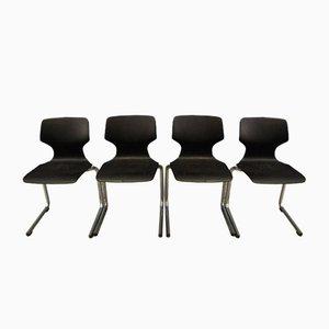 Esszimmerstühle von Bund, 1960er, 4er Set