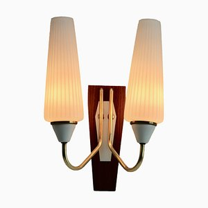 Vintage Italian 2-Arm Wall Light, 1960s