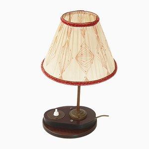Lámpara de mesa de baquelita, años 50