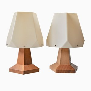Table Lamps by Rudolf Steiner for Produktion Dörfler Dornach, 1960s, Set of 2