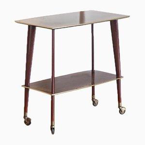 Tavolino in legno verniciato, anni '60