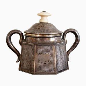 Antike Zuckerdose aus Silber