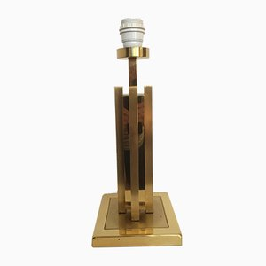 Vintage Dutch Brass Table Lamp from Herda, 1970s