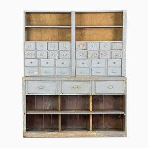 Mueble industrial con 31 cajones, años 20