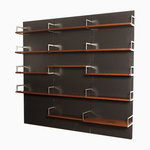 Rosewood Wall Unit by Cees Braakman for Pastoe, 1950s
