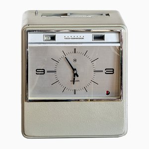 Industrial Time Recorder Clock from Maruzen, 1960s