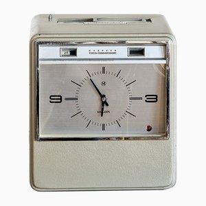 Reloj registrador industrial de Maruzen, años 60