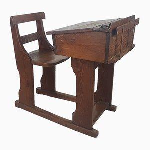 Antique VIctorian Children's Desk