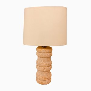 Stone Sculptural Table Lamp, 1970s