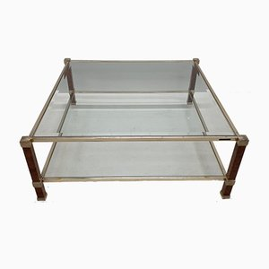 Square 2-Tier Coffee Table by Pierre Vandel for Pierre Vandel, 1980s