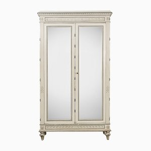 Antique Lous XVI Mirror Armoire