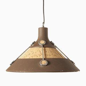 Lámpara de techo de Herda, años 70