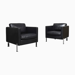 Leather DS-118 Lounge Chairs from de Sede, 1970s, Set of 2