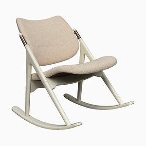 Rocking Chair by Olav Haug for Eleverum Møbel OG Trevarefabrikk, 1950s