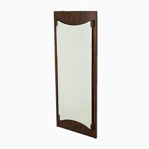 Specchio in palissandro, anni '70