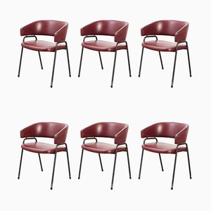 Model AP22 Dining Chairs by H. Salomonson & T. Tempelman for AP Originals, 1960s, Set of 6