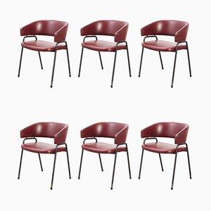 Modell AP22 Esszimmerstühle von H. Salomonson & T. Tempelman für AP Originals, 1960er, 6er Set