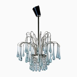 Glass Chandelier by Paolo Venini, 1970s