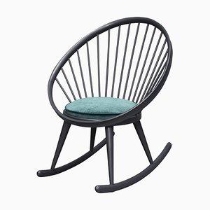 Rocking Chair Circle par Yngve Ekström pour Stol AB Sweden, 1960s