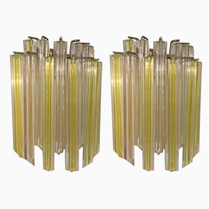 Murano Glass Sconces by Paolo Venini, 1970s, Set of 2