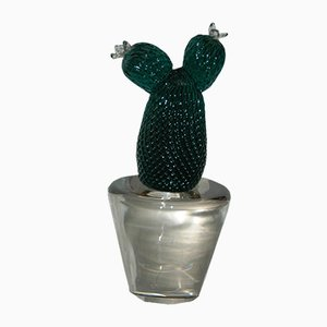 Vintage Cactus Sculpture by Carlo Nason for V. Nason & C., 1990s