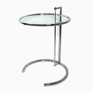 E 1027 Adjustable Side Table by Eileen Gray for ClassiCon, 1980s